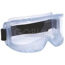 Lux Optical® Hublux védõszemüveg, gumipántos, páramentes, indirekt ventillációs