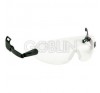 Lux Optical® Peltor V6 sisakszemüveg, állítható szárú, víztiszta lencsével védőszemüveg