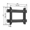 VOGELS Vogel`s EFA6875 - UNIVERZÁLIS LCD ADAPTER fekete (nem VESA)
