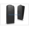 Haffner Slim Flexi Flip bőrtok - Alcatel One Touch Idol 2 Mini S (OT-6036) - fekete