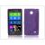 Haffner Nokia X/X+ szilikon hátlap - S-Line - lila