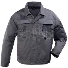 Coverguard CLASS szürke munkaruhák nagy igénybevételre, kabát, cipzáras, plusz patentos, 8 zseb +...