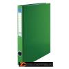 Gyűrűs könyv, 2 gyűrű, 35 mm, A4, PP/karton, VICTORIA, zöld (IDVGY04)