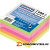 Öntapadó jegyzettömb, 76x76mm, 5x80lap, DONAU, neon szín (D7574)