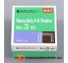 Tűzőkapocs, 24/10, MAX (MX2410) gemkapocs, tűzőkapocs