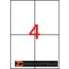 Etikett, univerzális, 105x148 mm, eltávolítható, APLI, 400 etikett/csomag (LCA03058)