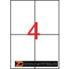 Etikett, 105x148 mm, poliészter, időjárásálló, APLI, 80 etikett/csomag (LCA1227)