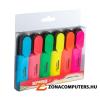 Szövegkiemelő készlet, 1-5 mm, KORES, 6 különböző szín (IK36160)