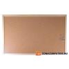 Parafatábla, kétoldalas, 30x40 cm, fa keret, VICTORIA (VVI18)