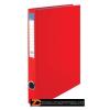 Gyűrűs könyv, 4 gyűrű, 35 mm, A4, PP/karton, VICTORIA, piros (IDVGY09)