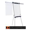 Flipchart tábla, mágneses felület, 68,5x100 cm, 2 db segédkarral, NOBO