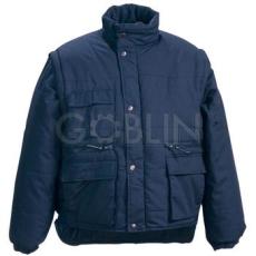 Coverguard POLENA SLEEVE kék, levehetõ ujjakkal mellénnyé alakítható kabát