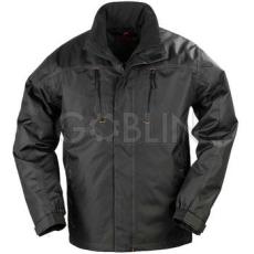 Coverguard ORKAN fekete PVC-vel vízhatlanított Oxford kabát hõszigetelõ béléssel, vastag polár...