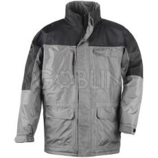 Coverguard RIPSTOP szürke/fekete kabát, szakadásbiztos anyag, polárbélés