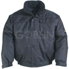 Coverguard BOUND fekete dzseki, víz- és szélálló 600D Oxford, taft belsõ, hegesztett biztonsági varrás