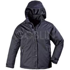 Coverguard LADY fekete nõi kabát, szellõzõ vízhatlan Taslan anyag, polár- és taft bélés