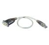 ATEN USB 2.0 adapter kábel 1 x D-SUB 9pól. - 1 x USB 2.0 dugó A, ezüst ATEN kábel és adapter