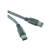 Digitus FireWire csatlakozókábel 1x Firewire (400) dugó 6pol. - 1x Firewire (400) dugó 6pol. 1.80 m fekete Digitus