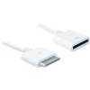 iPhone/iPod/iPad hosszabbító kábel 1 m, fehér