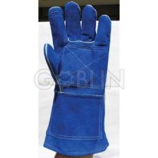 Euro Protection Kevlar® szálas bélelt, szikra- hõálló, tenyérerõsítéses kék marhahasíték...