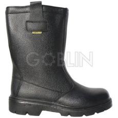 Coverguard POWERLITE (S3 CK) fekete színbõr csizma, szõrmebélés, kompozit lábujjvédõ, Welmax®...