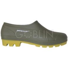 Dunlop PVC cipõ zoknira húzható, víz- és lúgálló, zöld