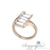 Ragyogj.hu - Swarovski Passo - fehér- Swarovski kristályos - Gyűrű