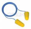 Earline® Earline zsinóros, narancs színû, lekerekített hengeres PU füldugó (SNR 36dB), 150 pár /... füldugó