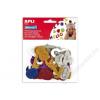 APLI Moosgumi, öntapadó, számok, glitteres, APLI Eva Sheets, vegyes színek (LCA13486)