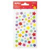APLI Matrica, pufi, APLI, csillagok (LCA13510)