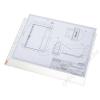 ESSELTE Genotherm, lefűzhető, A3, 75 mikron, narancsos felület, ESSELTE (E47182)