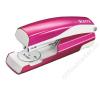 Leitz Tűzőgép, 24/6, 26/6, 30 lap, LEITZ Wow, metál rózsaszín (E55021023) tűzőgép