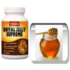 Pharmekal Royal Jelly Supreme (Szuper méhpempő) 500 mg (60 kapszula) gyógyhatású készítmény
