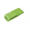 Natec Card Reader MINI ANT 3 SDHC  MMC  M2  Micro SD  USB 2.0 Green