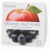 Bio Clearspring Bio Gyümölcspüré alma & feketeáfonya 2x100 g