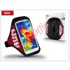 """SOX univerzális kartok sportoláshoz, max. 5"""" méretű készülékhez, 25-33 cm karvastagságig - piros"""