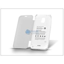 Samsung Samsung SM-G900 Galaxy S5 akkumulátoros flipes hátlap - 3200 mAh - fehér mobiltelefon akkumulátor