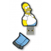 Integral Flashdrive The Simpsons  Homer  8GB  rubberised silicone