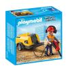 Playmobil Építőmunkás légkalapáccsal - 5472