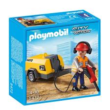 Playmobil Építőmunkás légkalapáccsal - 5472 playmobil