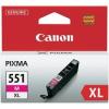 Canon CLI551XL Patron Magenta (eredeti)