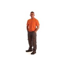 NEMMEGADOTT munkaruha derekasnadrág ROCK szürke-narancs (L)