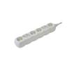 NEMMEGADOTT Hálózati elosztó - 4 × földelt - 4 × euro aljzat 1,5 m fehér