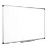 Fehértábla, mágneses, zománcozott, 100x200 cm, alumínium keret, VICTORIA (VVIZ06)