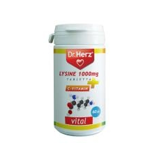 Dr. Herz Dr. Herz Lysine 1000 mg + C-vitamin tabletta  60 db vitamin