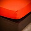 NATURTEX 100x200 cm-es jersey gumis lepedő (rozsdabarna)