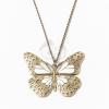 Antikolt nyaklánc pillangós medállal jwr-1088