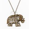 Antikolt nyaklánc elefánt medállal jwr-1078