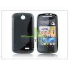 Haffner HTC Desire 310 szilikon hátlap - S-Line - fekete