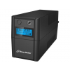 Power Walker UPS Line-Interactive 850VA 2x 230V PL OUT  RJ11 IN/OUT  USB  LCD